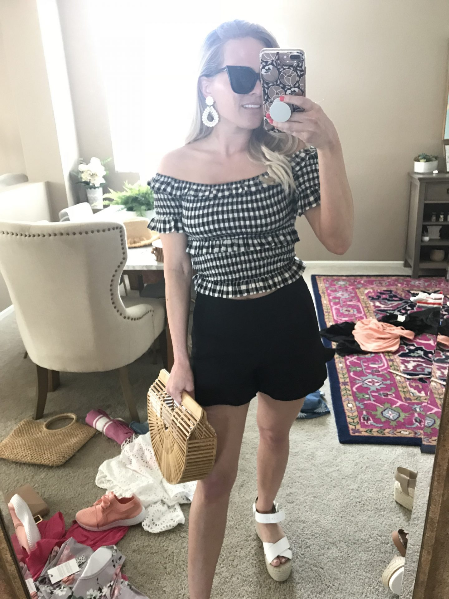 Instagram Fashion on Instagram Stories by popular Orange County fashion blogger Dress Me Blonde