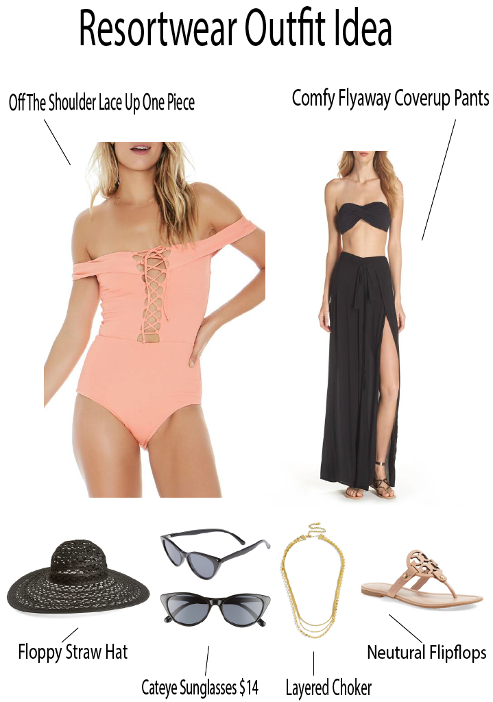 Easy Beach Resort Wear Look styled by popular Orange County fashion blogger, Dress Me Blonde