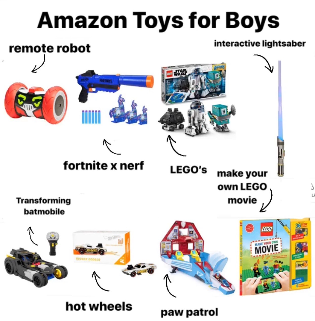 Holiday Gift Guide: the Best Amazon Toys for Boys featured by top US life and style blog, Dress Me Blonde.